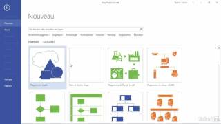 Tutoriel Visio 2016 : Explorer les options importantes du logiciel | video2brain.com