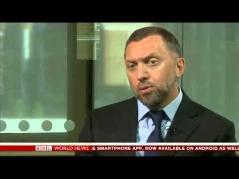 Oleg Deripaska, BBC interview
