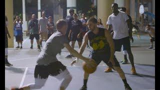 Professor & Guy Dupuy ball in the hood in Miami Video