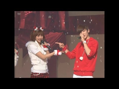 【TVPP】SHINee - Christmas Carol (with KARA), 샤이니 - 크리스마스 캐롤 (with 카라) @ Show Music core Live
