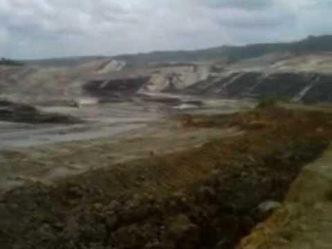Tambang Batubara PT Energi Batubara Lestari (EBL) Hasnur Group .3GP