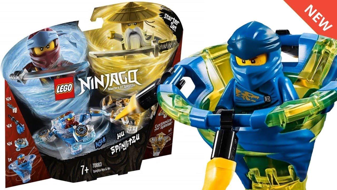 Lego Ninjago 2019 Spinjitzu Spinner Sets Images Ninjago Legacy