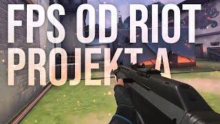 PROJEKT A - Nowy, TAKTYCZNY FPS twórców LEAGUE of LEGENDS - Riot Games