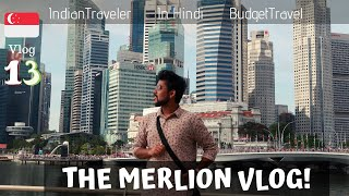 Exploring MERLION and HELIX BRIDGE Singapore Vlog #13