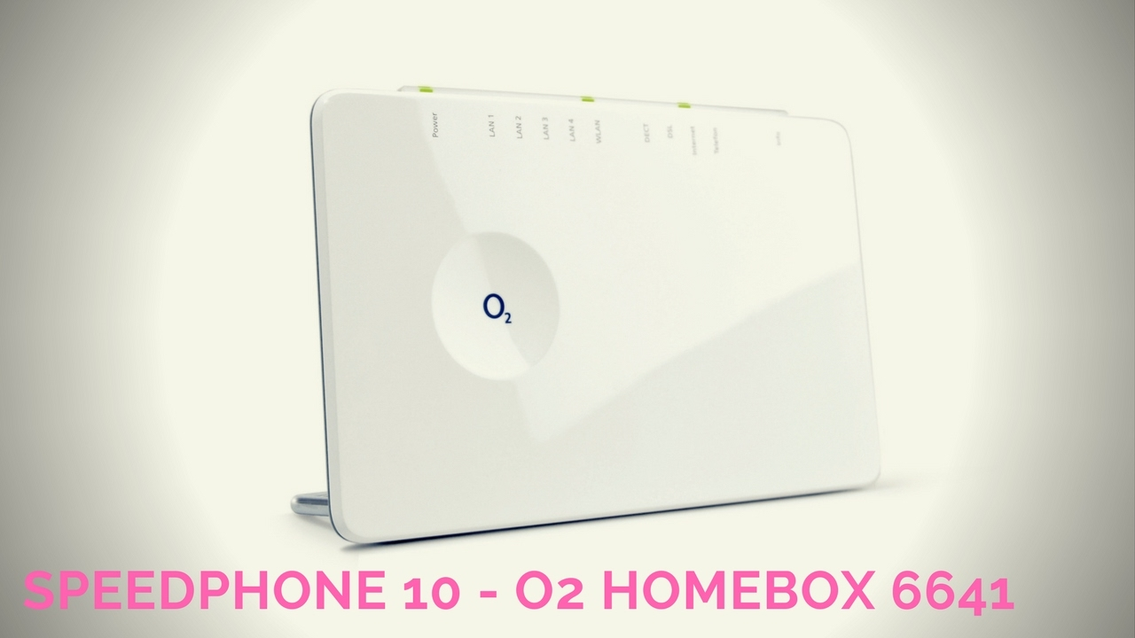 Einrichten O2 Homebox 6641 Speedphone 10 Cat Iq 2 Dect Telefon An Der O2 Homebox 6641