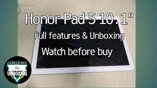 "Honor Pad 5 -10.1"" Review 