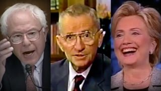 Ross Perot and Bernie Sanders Give Clinton Machine a Lesson on Greed