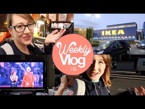 Weekly Vlog 6: Strictly Come Dancing Let's Watch, IKEA & New Home!