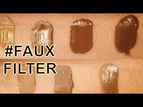 NEW! Huda Beauty #FauxFilter Foundation - Cinnamon & Chocolate Mousse Comprehensive Review I ByBare