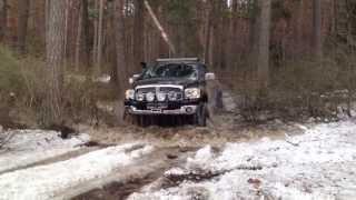 Dodge Ram Разлив на Волге