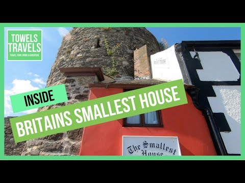 Inside Britains Smallest House | Conwy | United Kingdom Travel Guide