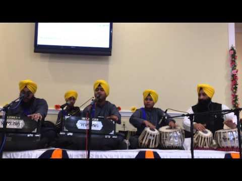 Garib Niwaaz Gusiyan Mera - Tajinder Singh, Gurpal Singh, Dimple Singh, Tejinder Singh in Washington
