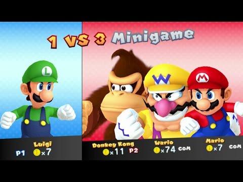 Mario Party 10 - Luigi amiibo Board (2 Player amiibo Party Mode)