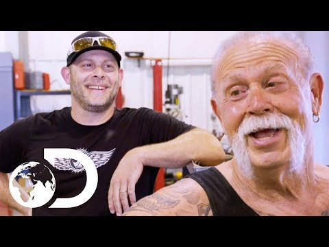 Paul Sr. And Jr. Make A Start On A Brand New Project Together | American Chopper