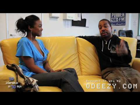 Tatyana Ali is in love with Q Deezy - 30 Interviews in 30 Days [Day 13]