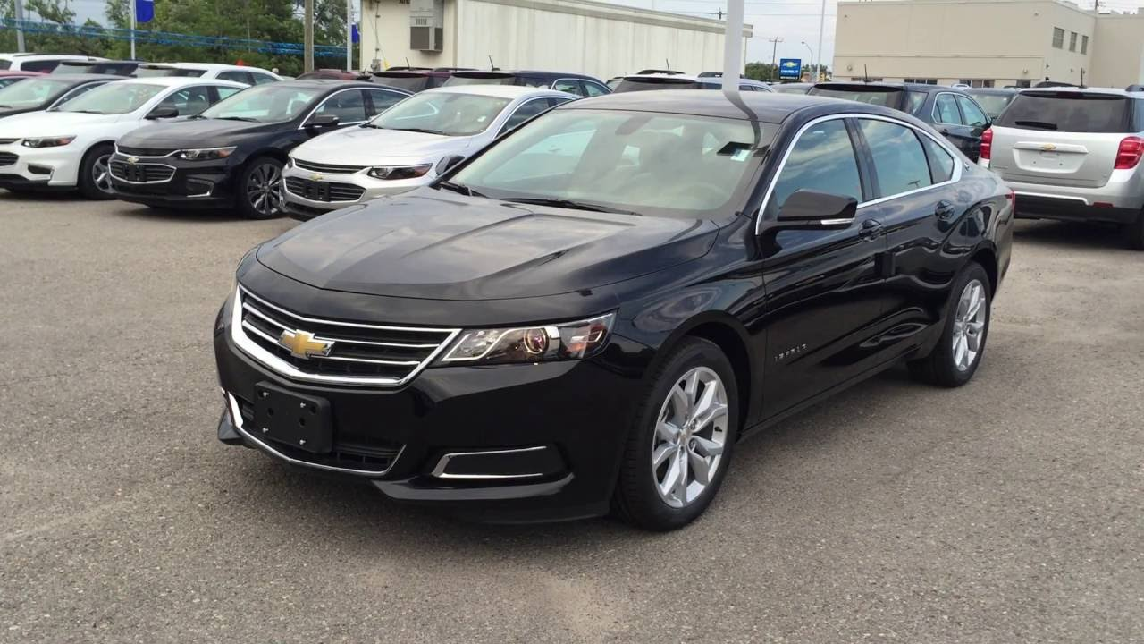 2016 Chevrolet Impala Lt Mosaic Black Metallic Roy Nichols Motors Courtice On