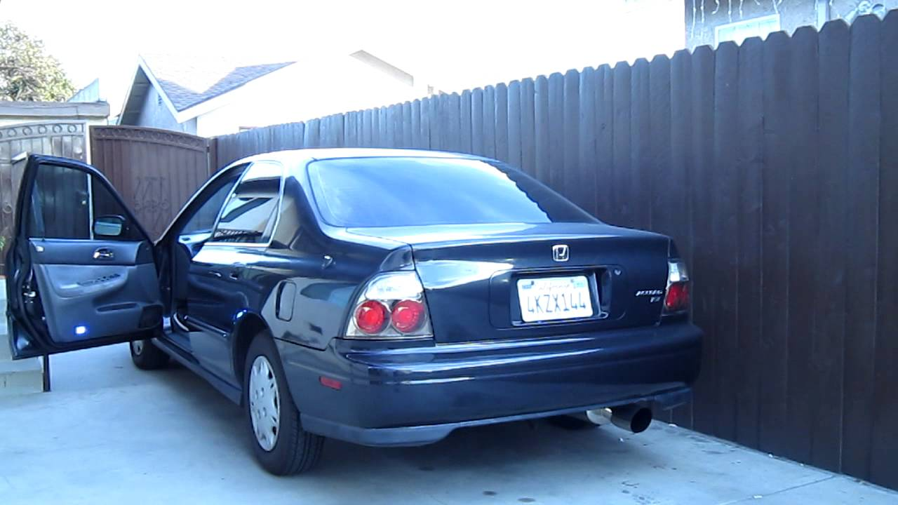 medium resolution of magnaflow exhaust on 95 accord