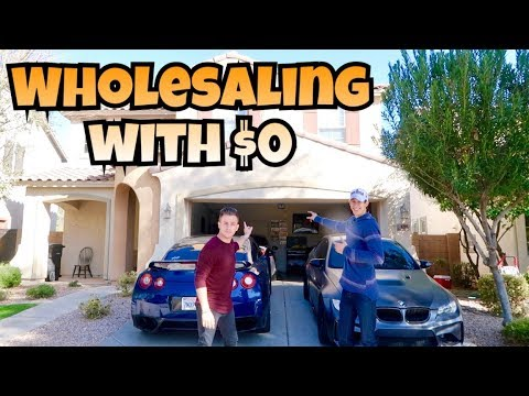 How To Wholesale Real Estate With $0 Money   Investing 101