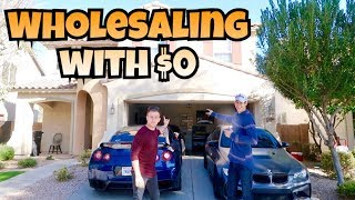 How To Wholesale Real Estate With $0 Money | Investing 101