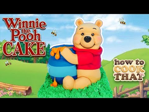 Winnie The Pooh Cake 3D | How To Cook That Ann Reardon