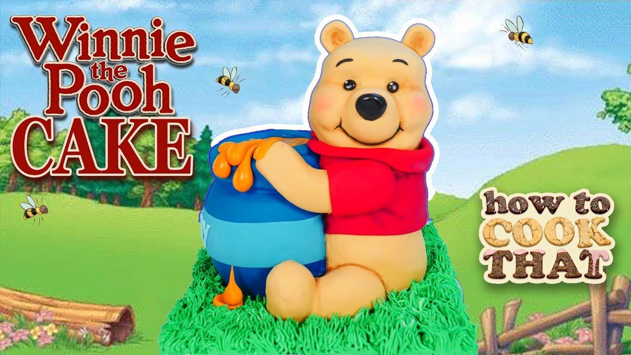 Winnie The Pooh Cake 3D