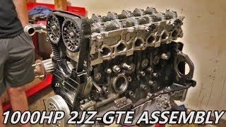 1000+ HP 2JZ Supra Engine Assembly - Supra Build Ep.2