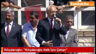 CHP Genel Başkanı Kemal Kılıçdaroğlu, Akşehir ilçesinde konuştu.