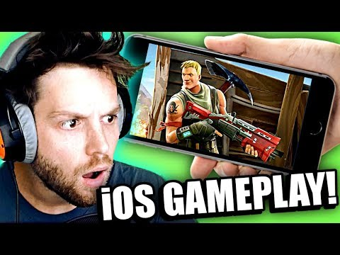 FORTNITE ON YOUR PHONE! [WARNING: TERRIBLE GAMEPLAY]