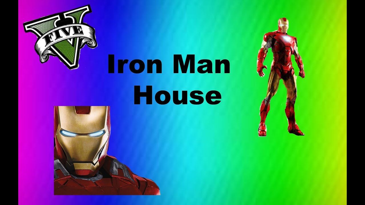 GTA 5 IRON MANS HOUSE