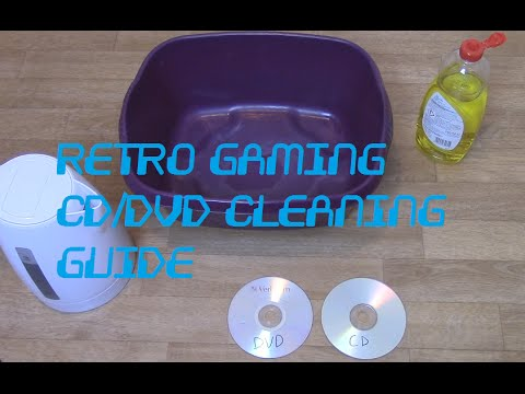 Retro Disc Cleaning Guide CDs & DVDs