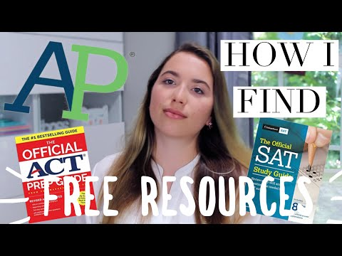Full guide to AP class, SAT, & ACT free study resources