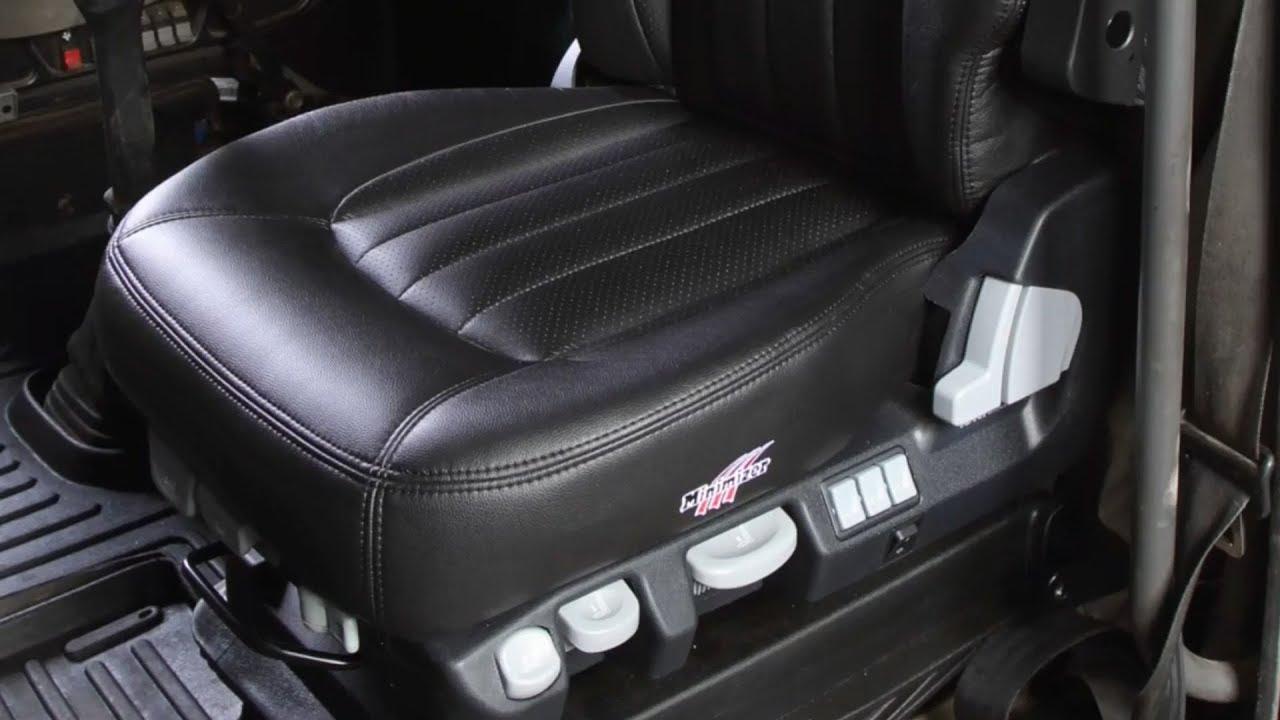 Semi Truck Seats >> Minimizer Heavy Duty Semi Truck Seats Youtube