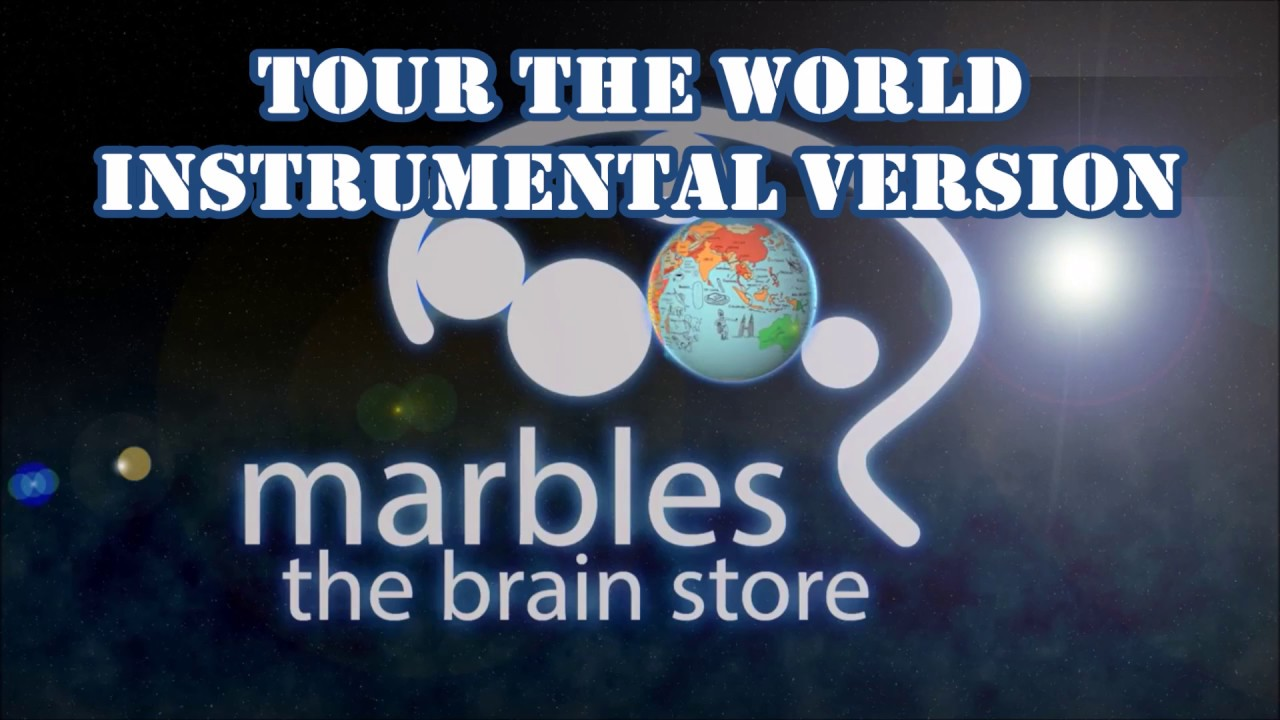 Tour The World By Marbles The Brain StoreInstrumental Version - Marbles the brain store us map