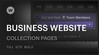 How to build a business website — Collection pages (Part 3 of 6)