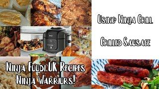 Ninja Foodi UK Recipes  Sausages