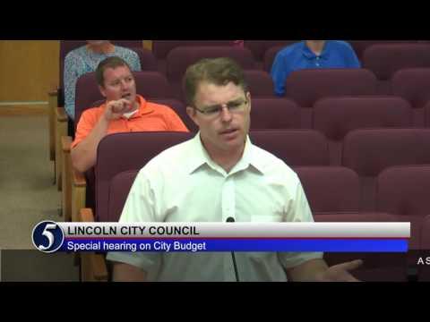 Lincoln City Council Council September 19, 2016