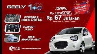 Spesifikasi Review Mobil Geely Panda 1.300cc Harga Promo 67 Juta-an