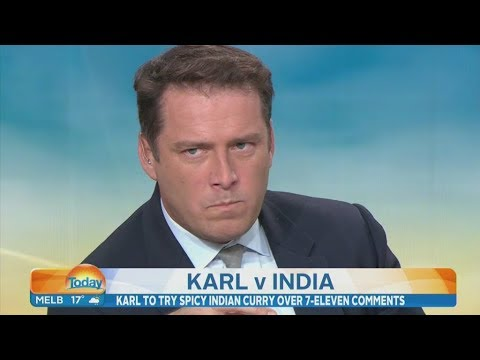 Karl Stefanovic eats his words with world's hottest curry after social media backlash