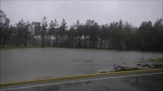 Farm Flooding From Hurricane Matthew