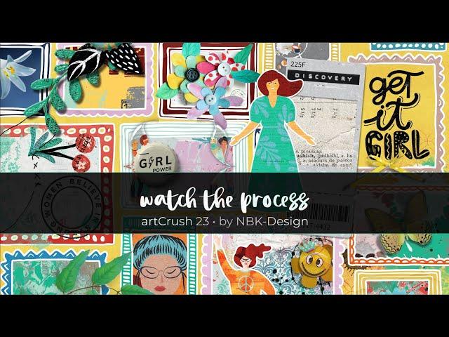 Watch the process | artCrush No23
