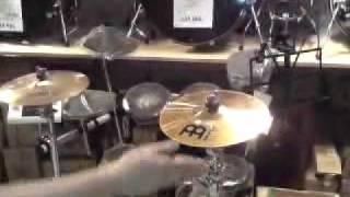 "Mid-level 10"" Splash cymbal test: Sabian B8 Pro, Paiste PST 5, Zildjian ZXT, Meinl Classics"