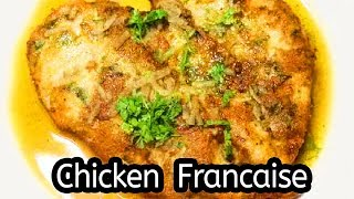 Chicken Francaise Recipe - How to Make Chicken Francaise Recipe