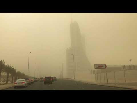 Bahrain Dust-Storm| 20 Jan 2018| Middle East