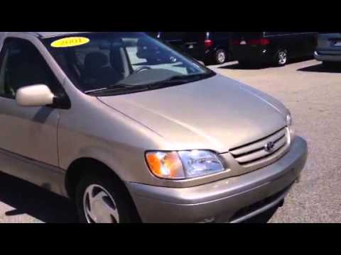 Toyota Sienna XLE Review By Ronnie Barnes YouTube - 2001 sienna