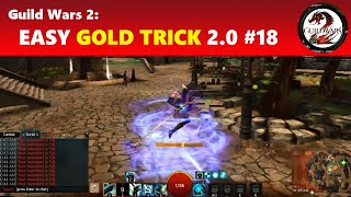 Guild Wars 2: Black Lion Chest Key Farming Guide (Easy Gold Trick 2.0 #18)