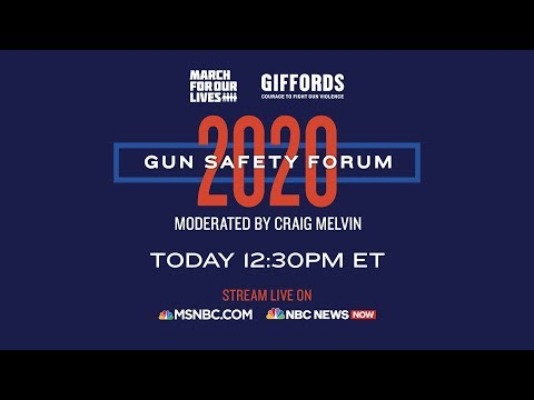 Watch Live: Gun Safety Forum 2020 In Las Vegas | MSNBC