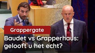 Baudet confronteert Grapperhaus: 'Gelooft u het écht?!'