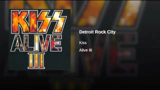Detroit Rock City (Live/1992)