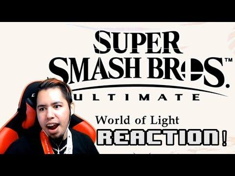Super Smash Bros. Ultimate - World Of Light REACTION! | HMK thumbnail