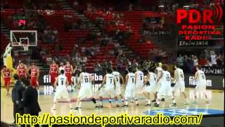 NO respect from Turkey to New Zealand while dancing all black haka FIBA WC 2014
